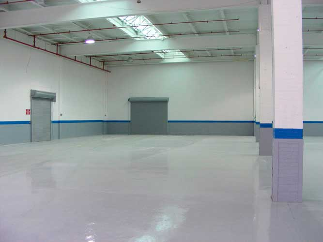 Interior Warehouse Painting in Norcross GA