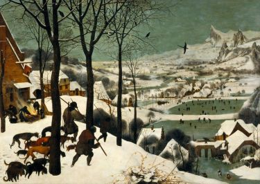 """Hunters in the Snow,"" by Pieter Bruegel the Elder"