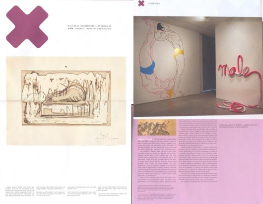 MCASD-newsletter-2008-2009-Drawing-The-Line