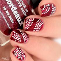 Nail art facile dotting tool Picture polish 1