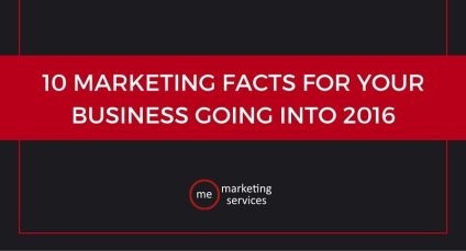 10 Marketing Facts for Your Business Going Into 2016