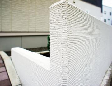 塗り壁コンクリート塀