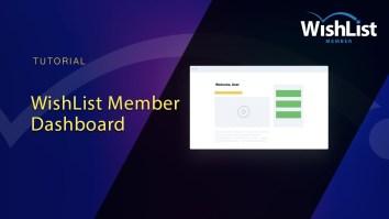 WishList Member Dashboard
