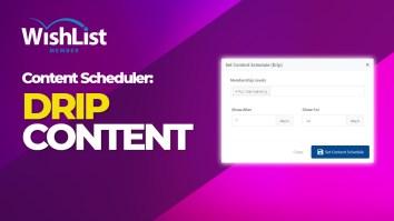 Content Scheduler