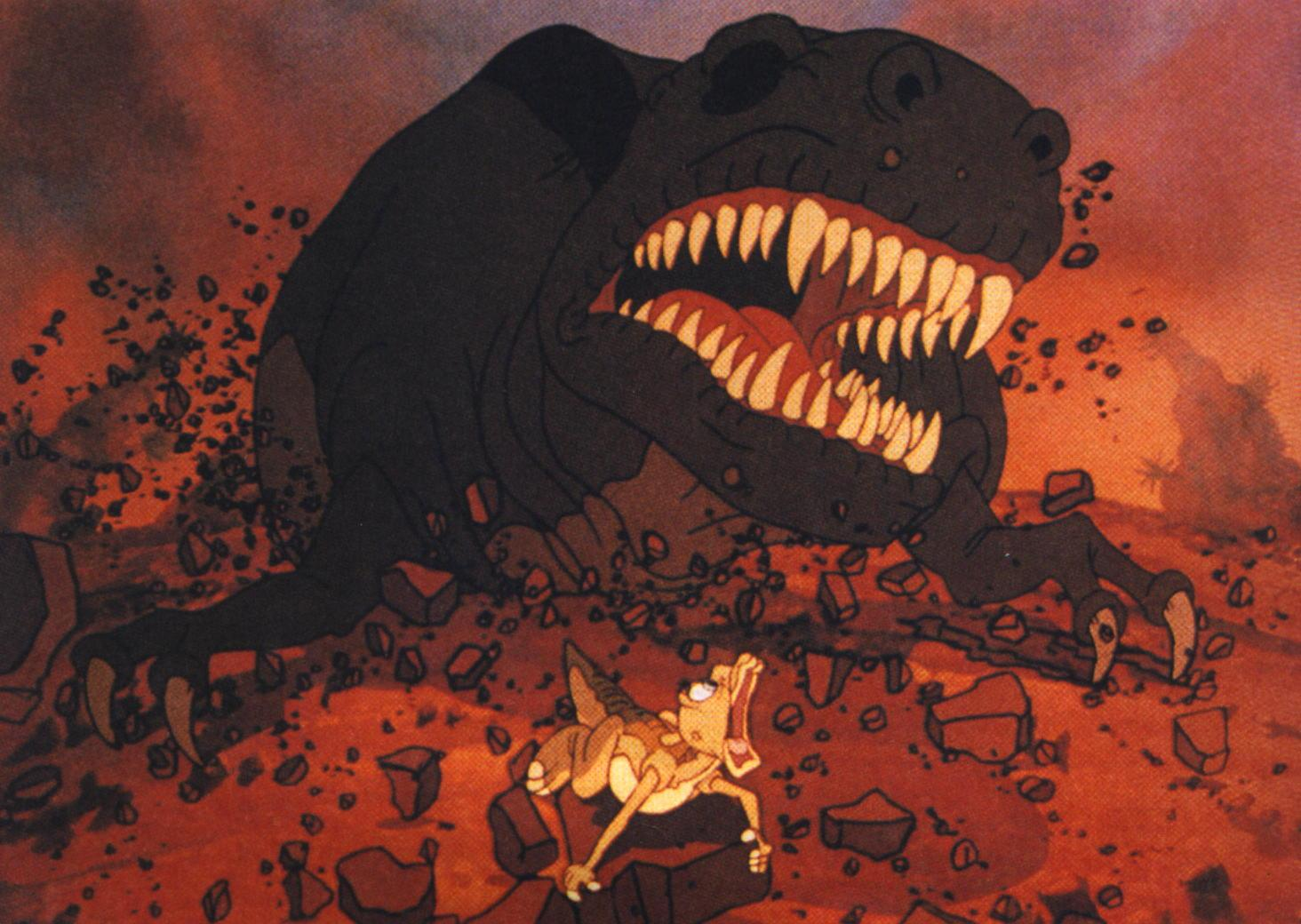 when dinosaurs ruled the mind 31 the land before time movie