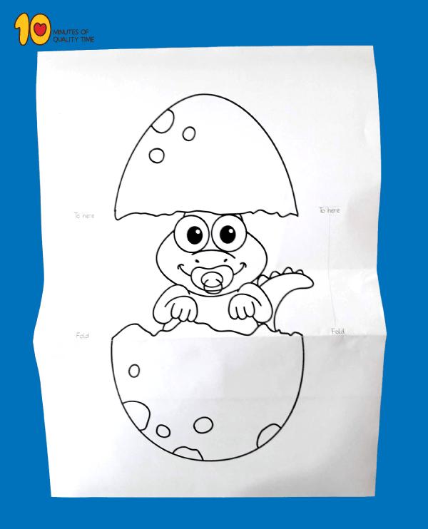 Surprise Hatching Dinosaur Egg Printable 10 Minutes Of