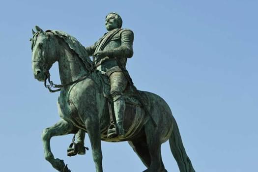 King Gustavus II Adolphus statue, Stockholm