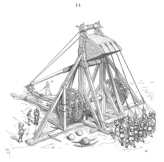 Medieval Mangonel.