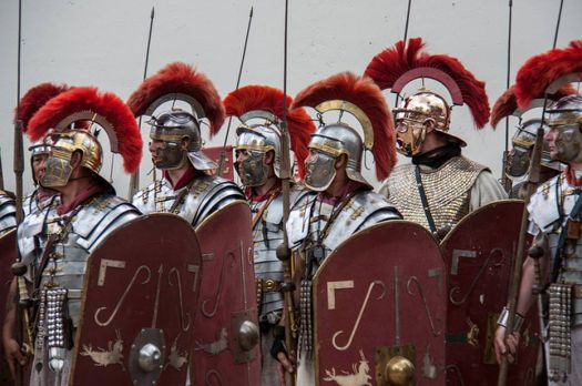 Antony amassed a Roman juggernaut of thousands of Roman infantry, Iberian and Celtic cavalry, and tens of thousands of troops comprised of other nations.