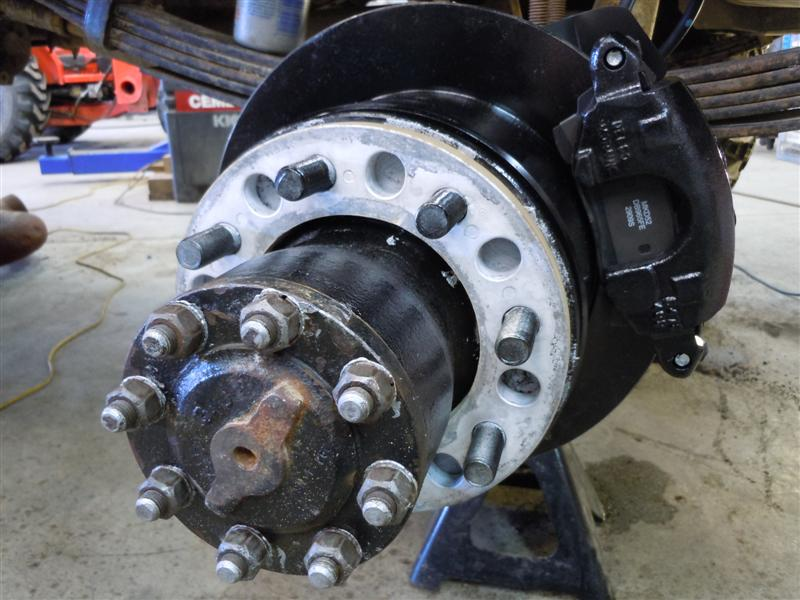 F350 Dual Rear Wheel Conversion