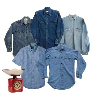vintage wholesale denim shirts