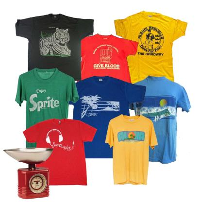 vintage t-shirts by the pound