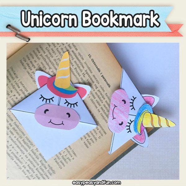 printable unicorn bookmarks # 23