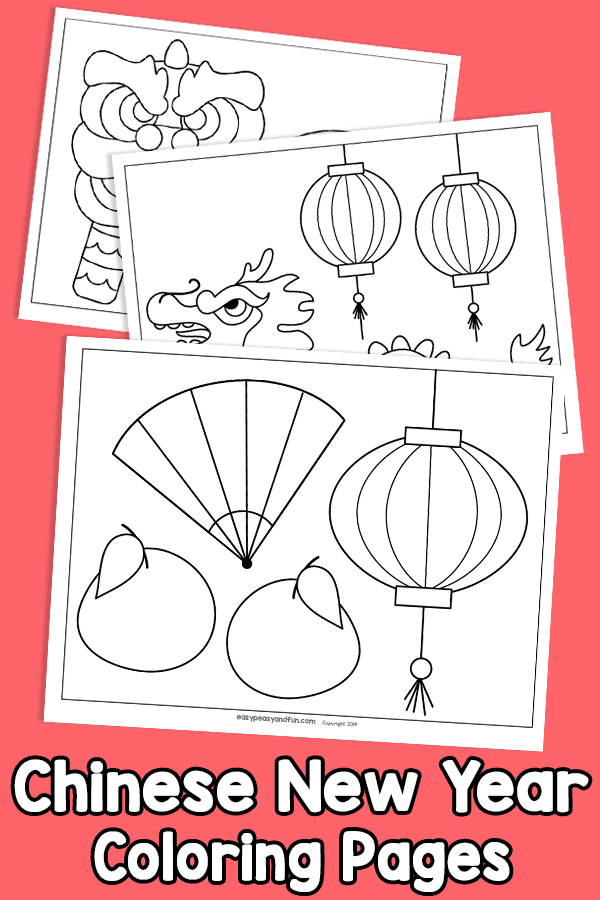 Chinese New Year Coloring Pages Easy Peasy And Fun Membership