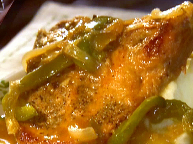 SOUL FOOD SMOTHERED PORK CHOPS. You may have seen this in an earlier