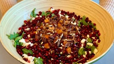 Sweet and Savory Holiday Salad