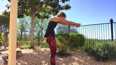 Arm Workout with Light Weights