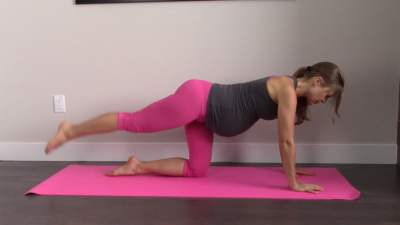 Prenatal Workout Series -3rd Trimester Legs