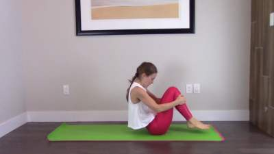45 Minute Pilates Rolling Workout