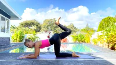 Stronger Glutes on the Mat