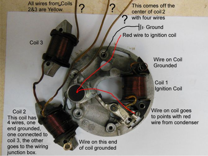 modern vespa  vespa stator wiring blues
