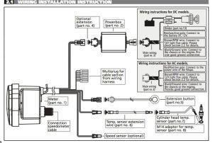 Koso Rpm Meter Wiring Diagram  Wiring Diagram