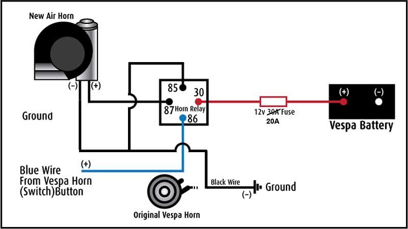 wiring diagram also bad boy air horn wiring diagram as well air horn