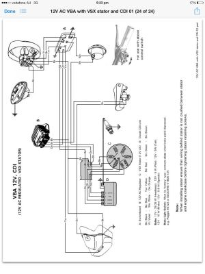 Modern Vespa : Help with Electricity and wiring VBB frame
