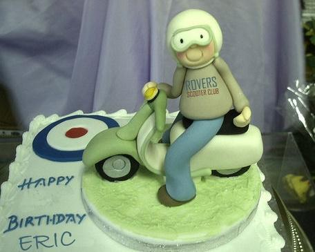 Modern Vespa Happy Birthday Eric