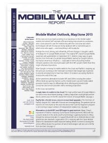 Mobile Wallet Outlook, May/June 2013