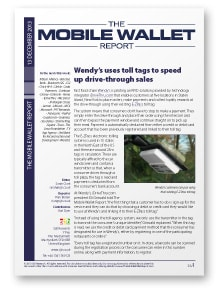 The Mobile Wallet Report, 13 December 2013
