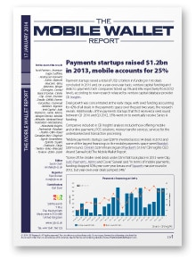 The Mobile Wallet Report, 17 January 2014