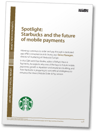 Spotlight: Starbucks and the future of mobile payments