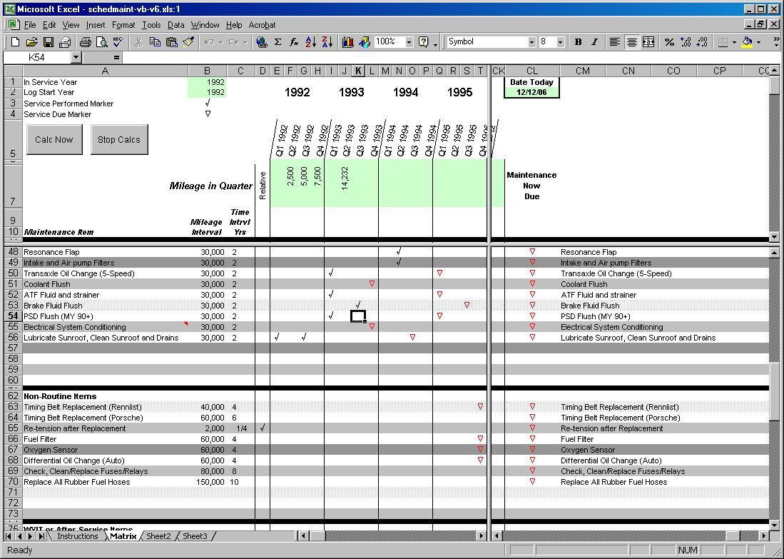 Excel Maintenance Form Work Order Template 4 Free