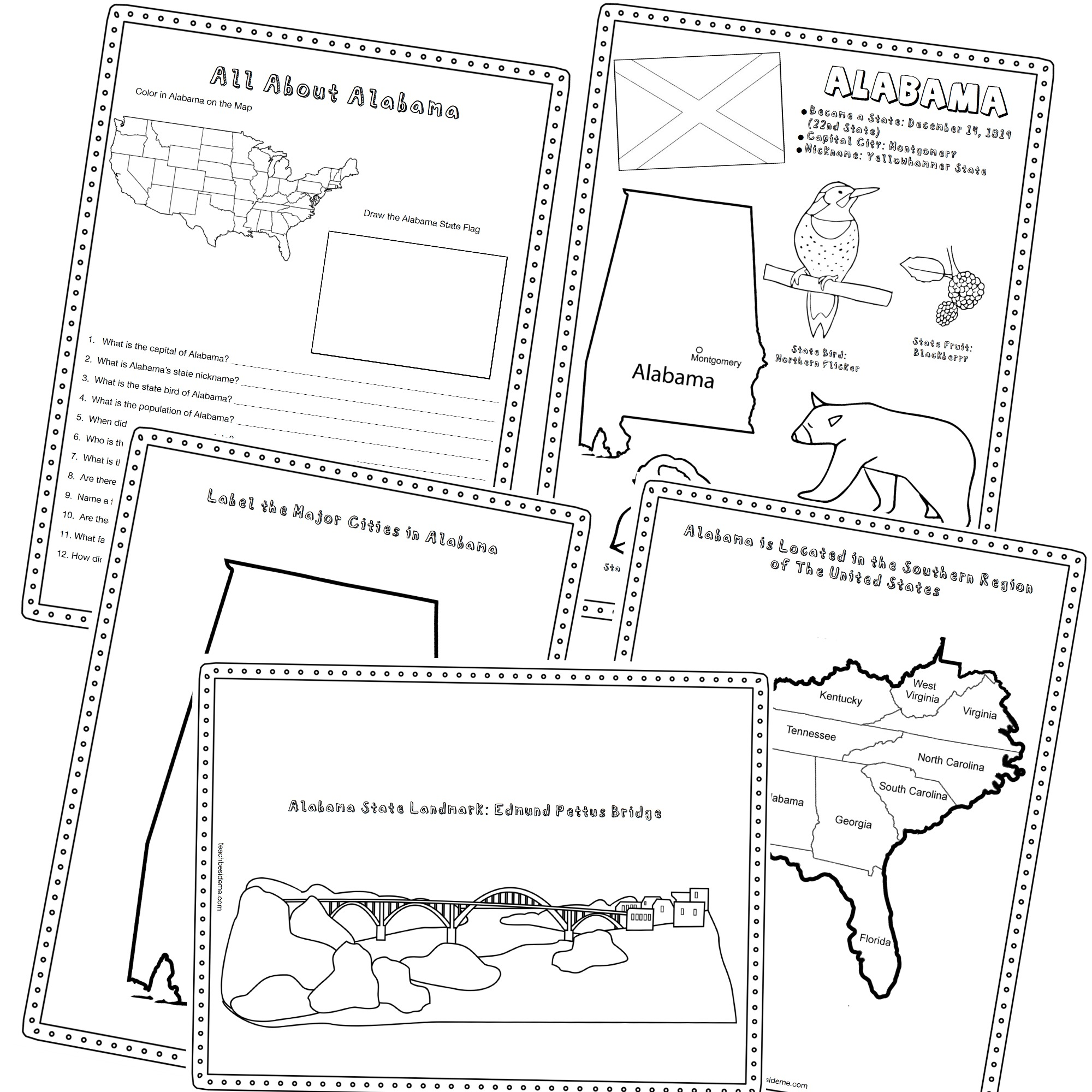 History And Geography Printables
