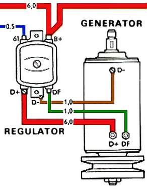 TheSamba :: Beetle  19581967  View topic  Over charging generatorregulator problem
