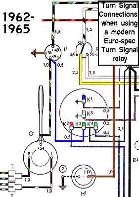 TheSamba :: Beetle  19581967  View topic  Turn signal indicator flashs with high beam