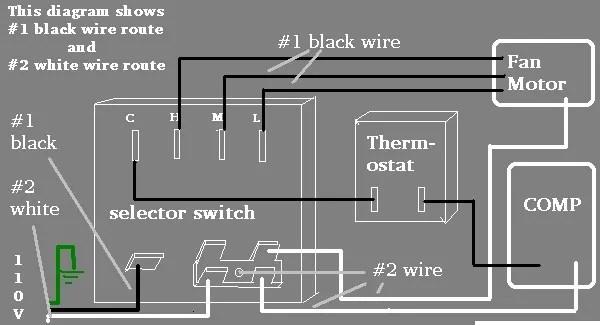 central air conditioner wiring schematic  atv winch