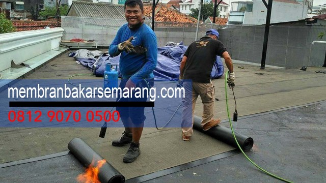 HARGA PASANG WATERPROOFING MEMBRANE BAKAR PER METER di Kota  Sidoharjo,Semarang,Jawa Tengah - Whats App Kami : 0812 9070 0500 -