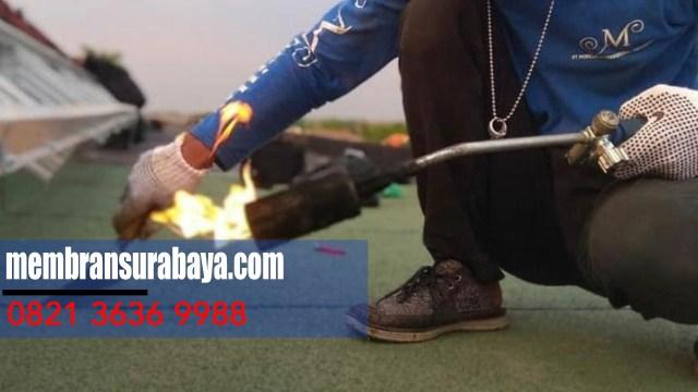 Kami  kontraktor waterproofing membran bakar di Wilayah  Nganjuk - Telp : 082 136 369 988