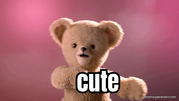 Cute Teddy Bear Meme Generator