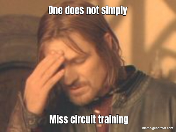 One Does Not Simply Miss Circuit Training Meme Generator