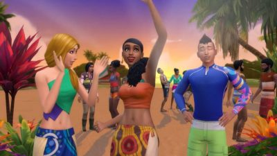 New Sims 4 Island Living Expansion: swim, sail and meet ...