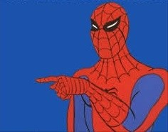 3 Spiderman Pointing Memes Gifs Imgflip