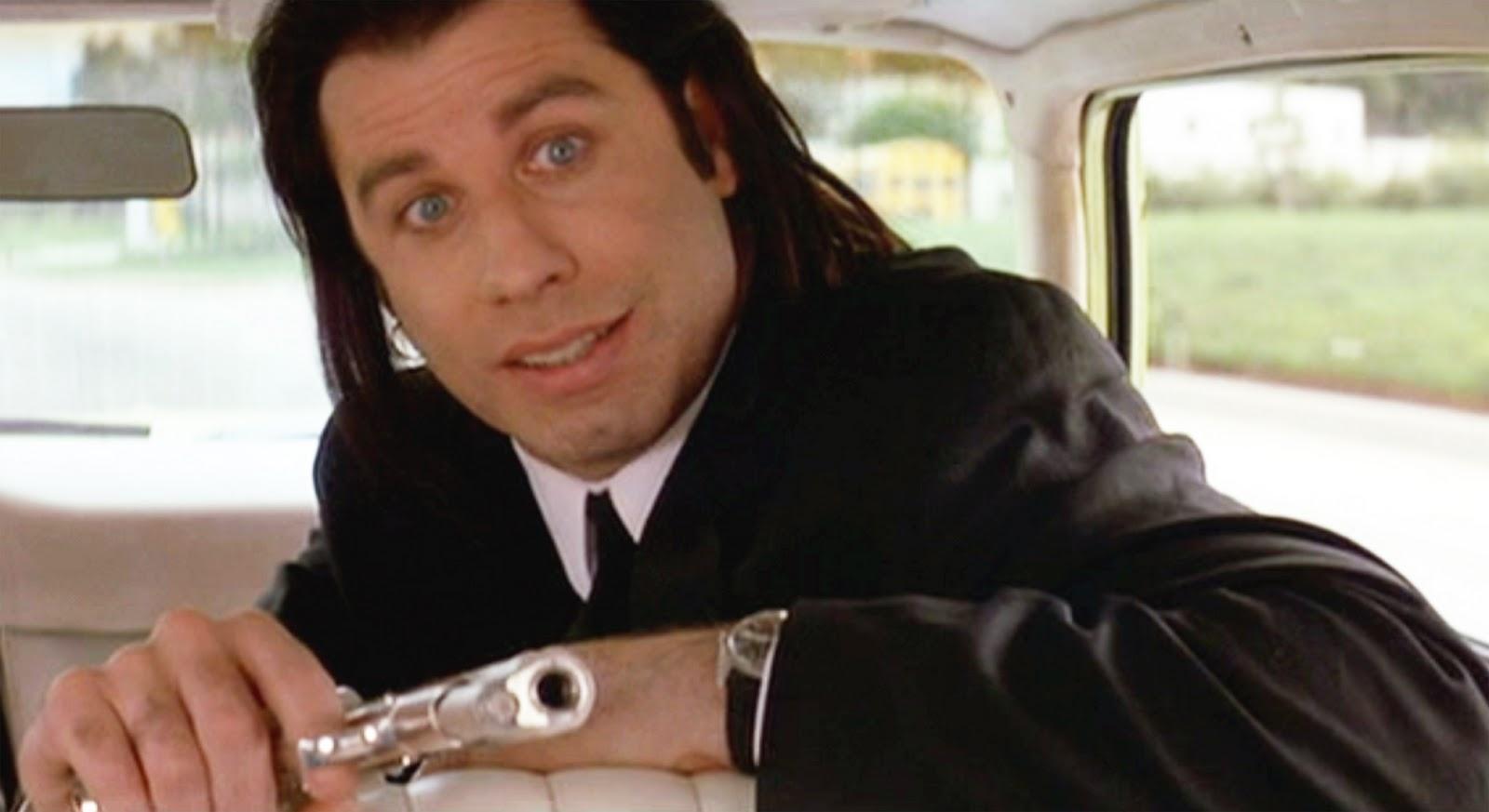 Pulp Fiction John Travolta Meme Generator