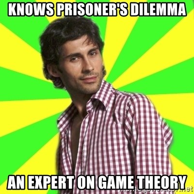 Knows Prisoner S Dilemma An Expert On Game Theory Know It All