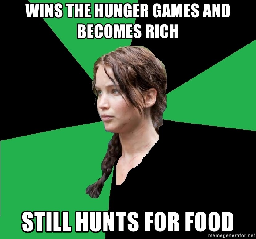Let The Hunger Games Begin Based On A True Story By Recyclebin