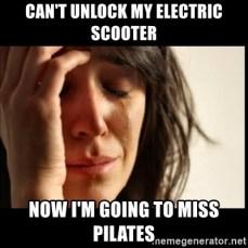 Resultado de imagen de electric scooter meme