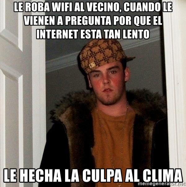 Le Roba Wifi Al Vecino Cuando Le Vienen A Pregunta Por Que El