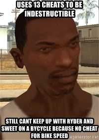 Gta San Andreas Cheat Mod Gameplay Memes Home Facebook